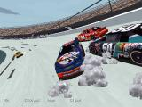 NASCAR Racing 2 DOS Double ouch!