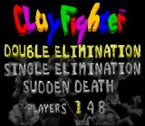 Clay Fighter: Tournament Edition SNES The available tournaments
