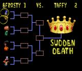 Clay Fighter: Tournament Edition SNES The sudden death tournament.