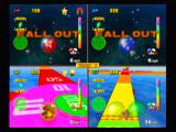 Super Monkey Ball 2 GameCube Split screen monkey target.