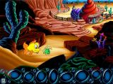 Freddi Fish 4: The Case of the Hogfish Rustlers of Briny Gulch Windows That's Cousin Calico's ranch, minus hogfish