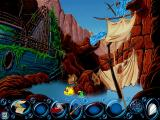 Freddi Fish 4: The Case of the Hogfish Rustlers of Briny Gulch Windows Maybe that falling water should be re-diverted...somehow.