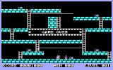 Lode Runner DOS Level 1 - out of lives!