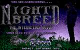 Clive Barker's Nightbreed: The Interactive Movie DOS Title screen (VGA)