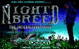 Clive Barker's Nightbreed: The Interactive Movie DOS Title screen (EGA)
