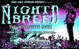 Clive Barker's Nightbreed: The Interactive Movie DOS Title screen (CGA)