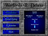 Warlords II Deluxe DOS Configuring the game for your system.