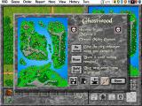 Warlords II Deluxe DOS City menu