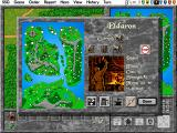 Warlords II Deluxe DOS We're starting to be able to build blue-chip unit types!