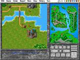 Warlords II Deluxe DOS Eliminating a rival by taking his last city.