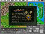 Warlords II Deluxe DOS A unit is enhanced through success!