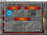 Warlords II Deluxe DOS Options for starting a game with randomly-generated map.