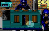 Hostage: Rescue Mission DOS You can utilize open doors to avoid being spotted (EGA).