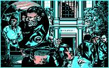 Hostage: Rescue Mission DOS The mission failed! (CGA)