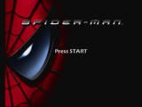 Spider-Man: The Movie GameCube Title screen