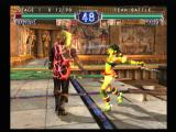 SoulCalibur II PlayStation 2 Team battle