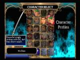 SoulCalibur II PlayStation 2 Picking a weapon.
