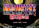 Ninja Master's Neo Geo Title screen