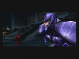 Spider-Man: The Movie GameCube Scorpian during one of the cut scenes before a level