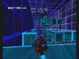 Spider-Man: The Movie GameCube One of the training obstacle courses