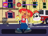 Um Jammer Lammy PlayStation Use the hose like a guitar and help Chief Puddle put the fire out.
