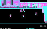Street Sports Soccer DOS Gameplay (CGA)