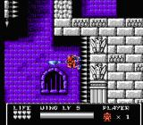 Gargoyle's Quest II NES Firebrand needs to use all his abilities to get through the last level.