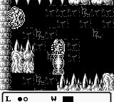 Gargoyle's Quest Game Boy The second boss fight - kill four of those plants.
