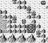 Gargoyle's Quest Game Boy On the world map, about to enter a palace.