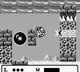 Gargoyle's Quest Game Boy Use the block buster to... bust blocks.
