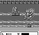 Gargoyle's Quest Game Boy Another boss fight