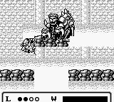 Gargoyle's Quest Game Boy Try to stay above him so he can't jump on you.