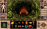 Elvira II: The Jaws of Cerberus Amiga In the spider-tunnels, you will encounter many disgusting creatures.