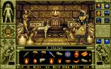 WaxWorks Amiga A room in the pyramid. You can pick up a lot of items in the game. Most will be useless, but some are needed to solve puzzles.