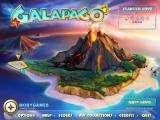 Galapago Windows Main menu / map screen.
