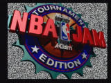 NBA Jam Tournament Edition Jaguar Title Screen