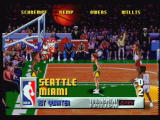 NBA Jam Tournament Edition Jaguar The game's presentation is very TV-like and professional.