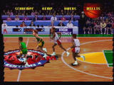NBA Jam Tournament Edition Jaguar Player graphics are large and very close to the arcade original.