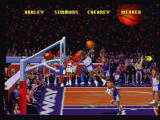 NBA Jam Tournament Edition Jaguar Yet another crazy dunk