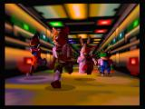 Star Fox 64 Wii The Star Fox team, Falco Lombardi, Fox McCloud, Peppy Hare, and Slippy Toad.