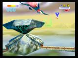 Star Fox 64 Wii A enemy base on Fortuna.