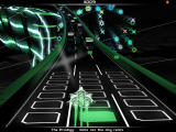 Audiosurf Windows Avoid the grey blocks and grab the green ones (Ninja mode).