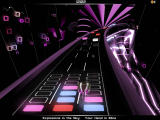 Audiosurf Windows Red ones give higher points.