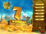 7 Wonders of the Ancient World Windows Main menu