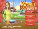 Word Krispies Windows Main menu