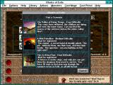 Blades of Exile Windows 3.x Episode selection