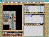 Blades of Exile Windows 3.x Line-of-sight clears things right up.