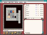Exile II: Crystal Souls Windows 3.x Leaving my room.  Line-of-sight hallway!