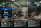 Devil Summoner: Soul Hackers SEGA Saturn Fighting a maniacal guitar-playing boss. Things don't go well...