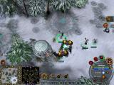 Dungeons & Dragons: Dragonshard Windows Combat in a frosty environment
